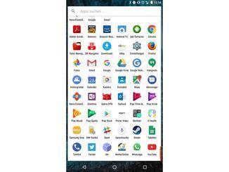 So lassen sich viel mehr Apps auf einem Screen abbilden.