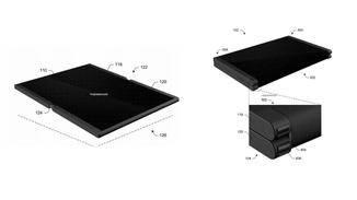Microsoft beantragte ein Patent für ein faltbares Tablet.
