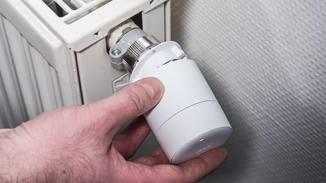 Das Tado-Thermostat nimmt den Platz ein.