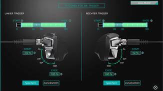Die Software lässt präzise Einstellungen der Trigger zu.