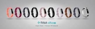 Das erweiterte Line-up des Fitbit Alta HR.