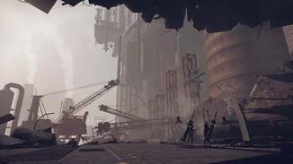 """Die Schauplätze von """"NieR: Automata"""" sind teils malerisch gestaltet."""