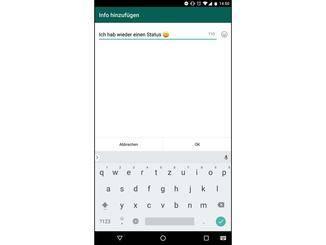 Status ändern Whatsapp Neu