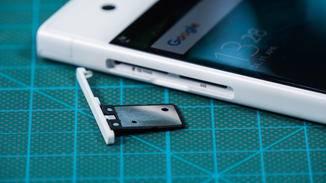 Der interne Speicher kann per microSD-Karte erweitert werden.