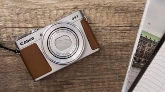 Die neue PowerShot G9 X ist äußerst kompakt.