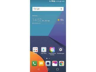 Im Originalzustand hat das LG G6 keinen App-Drawer.
