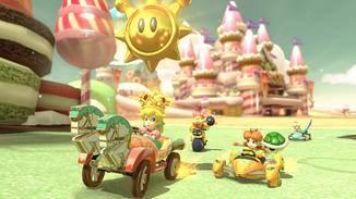 "Knallbunter Rennspaß: ""Mario Kart 8 Deluxe""."
