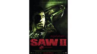 Plakat zum zweiten Saw-Teil.