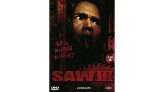 Plakat zum dritten Saw-Teil.