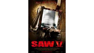 Plakat zum fünften Saw-Teil.
