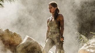 Lara Croft (Alicia Vikander) lässt sich so schnell nicht unterkriegen.