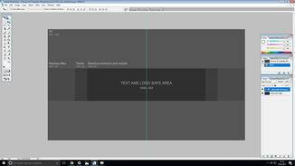 Die YouTube Vorlage Kann In Photoshop Geladen Werden