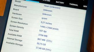5,3-Zoll-Bildschirm mit Quad-HD-Auflösung und 4 GB Arbeitsspeicher: Das sollen die Specs des Nokia 9 sein.