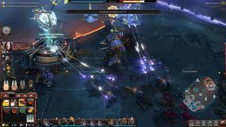 Im späteren Verlauf der Einsätze gibt es mächtige Einheiten wie den Imperial Knight.
