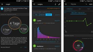Handlungstipps gibt die App nur wenige, Sportler bietet sie dafür viele Infos zu Leistungswerten.