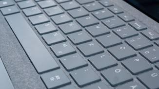 Die Tastatur weiß zu überzeugen.