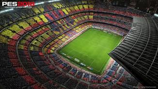 PES 2018: Stadion Camp Nou