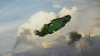Und auch ein Wiedersehen mit dem Millennium Falcon gibt es.