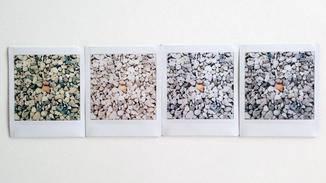 Nur vier der 10 möglichen Filter: Highline, Amber, Luna und Normal (von links nach rechts).