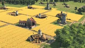 Durch die kleinen Felder kann die Grundfläche besser genutzt werden.
