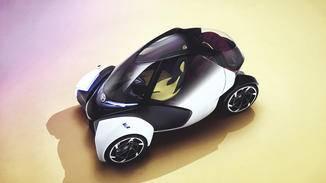 Klein, aber fein: Der Toyota i-TRIL könnte bald den Innenstadtverkehr aufmischen.