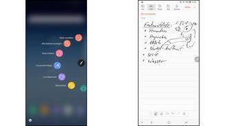 Es gibt verschiedene Apps, die für den S Pen optimiert wurden.