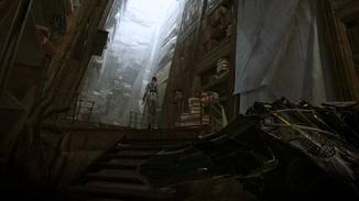 """...oder in schummrigen Katakomben: Die Atmosphäre von """"Dishonored: Der Tod des Outsiders"""" überzeugt."""