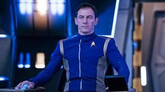"""""""Star Trek: Discovery""""-Szenenbild, Captain Gabriel Lorca (Jason Isaacs)."""
