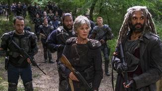 Carol und König Ezekiel suchen nach einem flüchtigen Savior.