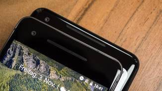 Beide Pixel-Phones besitzen Stereolautsprecher an der Front.