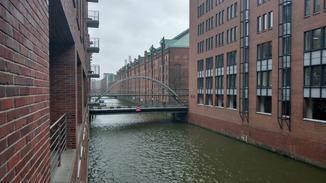 Die Fotos können sich trotz Hamburger Regenwetter sehen lassen.