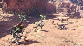 """... """"Monster Hunter World"""" simuliert ganze Ökosysteme."""