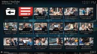 """In der Ansicht """"Wall"""" sieht YouTube fast wie immer aus."""