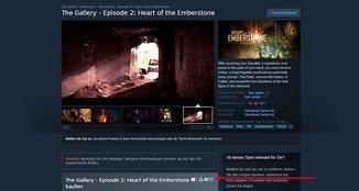 Bei Steam sind die Mixed-Reality-Spiele mit einem besonderen Symbol markiert.