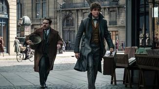 Jacob (links) und Newt (rechts) haben es offenbar eilig.