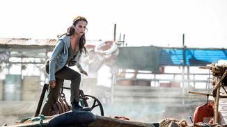 Alicia Vikander hat für den finalen Lara-Croft-Look hart trainieren müssen.