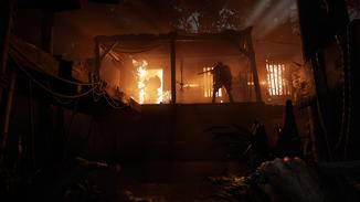 """Wer in """"Hunt: Showdown"""" Feuer fängt, verliert dauerhaft Lebensenergie. Autsch!"""