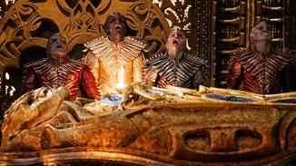 """Das Volk der Klingonen kehrt in """"Star Trek: Discovery"""" mit verändertem Aussehen zurück."""