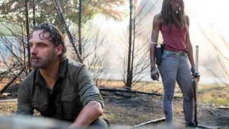 Rick und Michonne müssen Abschied nehmen.
