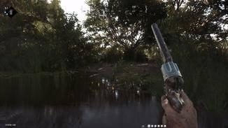Mit Flinten und Revolvern setze ich mich zur Wehr, aber die Munition ist knapp bemessen.