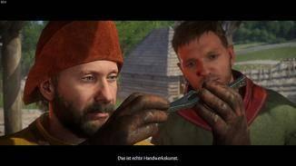 Heinrich (rechts) ist der Sohn des Schmieds. Kein Held also, sondern ein ganz normaler Typ.