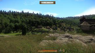 "Die Landschaft in ""Kingdom Come: Deliverance"" ..."