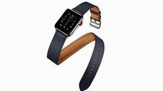 Die diesjährigen Hermès-Armbänder für die Apple Watch setzen Akzente.