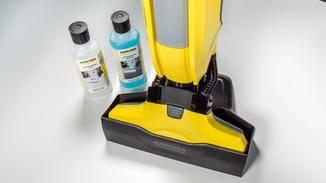 Die Reinigungsmittel sind auf die jeweiligen Bodenbeläge angepasst.