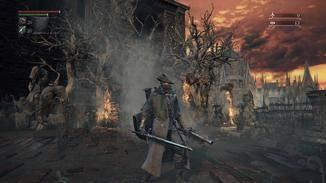 """Schritt für Schritt suche ich mir einen Weg durch die Welt von """"Bloodborne""""."""