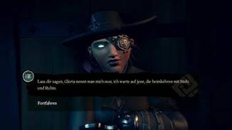 """Anschließend könnte Gloria die """"Tür"""" zum geheimen Piratenversteck sein."""