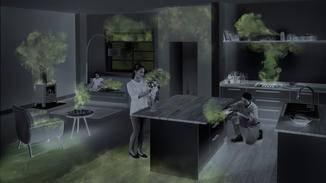 Laut Dyson sind die Verschmutzungsquellen in Innenräumen erheblich.