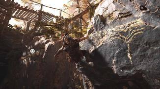 """Die Klettersequenzen erinnern stark an """"Horizon Zero Dawn"""" oder """"Uncharted""""."""