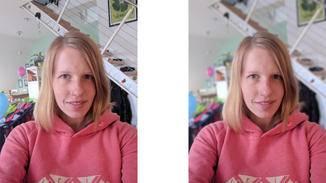 Der Porträtmodus des Google Pixel 2 fokussiert Gesichter, und lässt den Hintergrund verschwimmen.