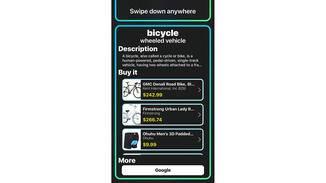 Zu jedem Objekt bietet die App weiterführende Infos und Shopping-Links.